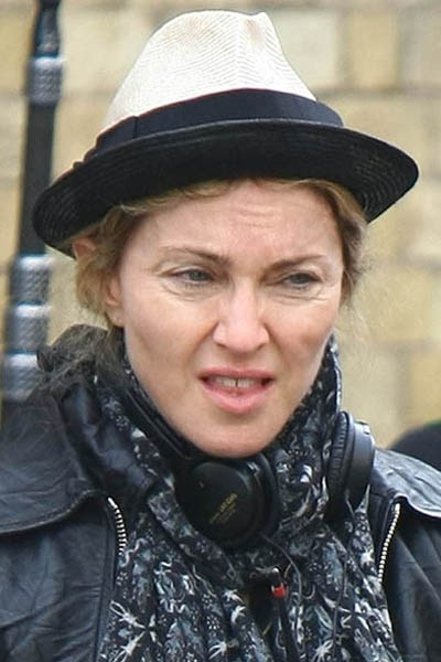 Madonna Directs Her New Movie _W.E._ In London