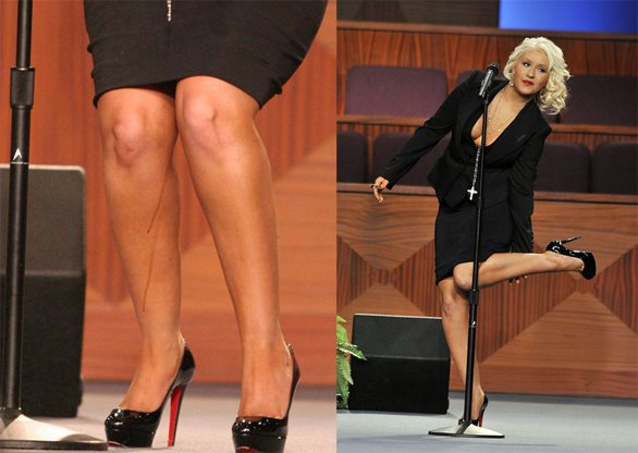 Christina aguilera peeing for that