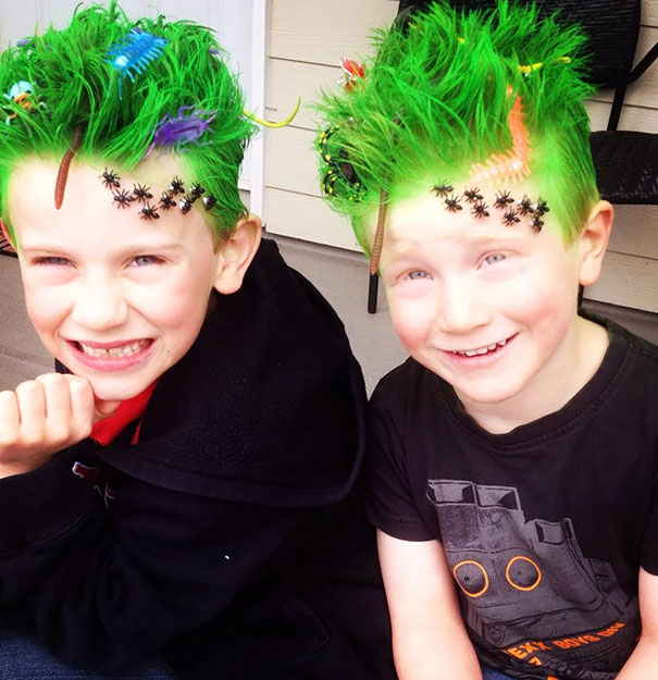 Cool Kids On The Block: 12 Of The Craziest And Creative Hairstyles