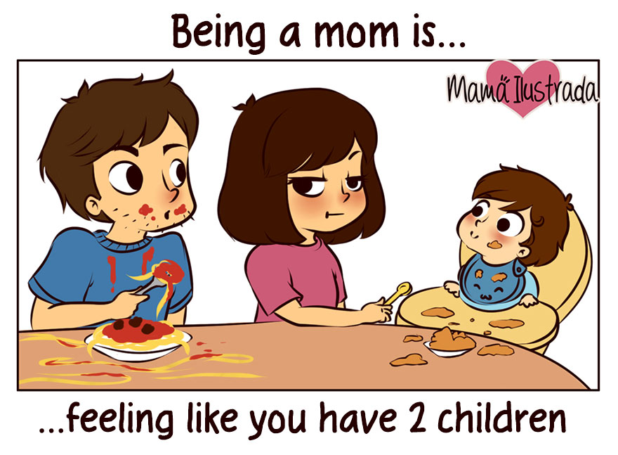 15 Everyday Parenting Problems Told In Cute Illustations